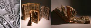 Untitled Series, Evolution Triptych and Origin of Man by artist Emma Lloyd